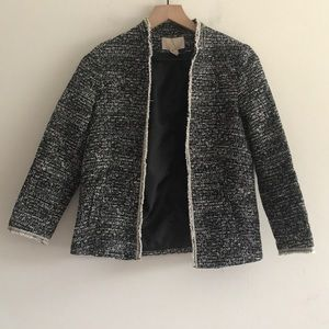 Like New H &. M Blazer Fully Lined Size 2